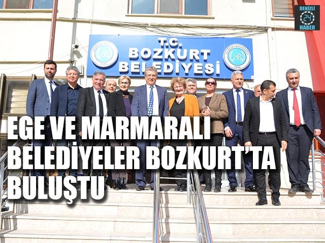 Ege ve Marmaralı Başkanlar Bozkurt'ta buluştu