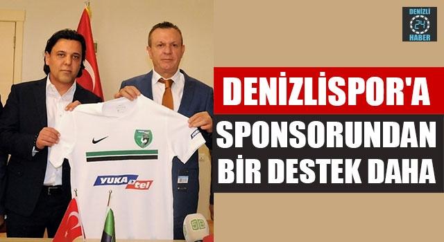 Denizlispor'a Sponsorundan Bir Destek Daha