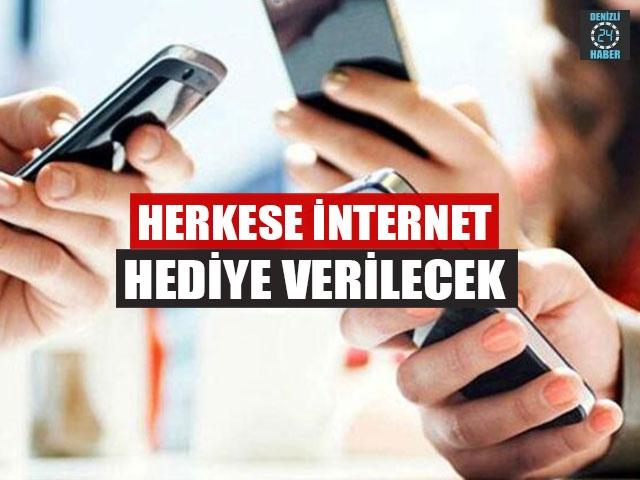 Herkese İnternet Hediye Verilecek