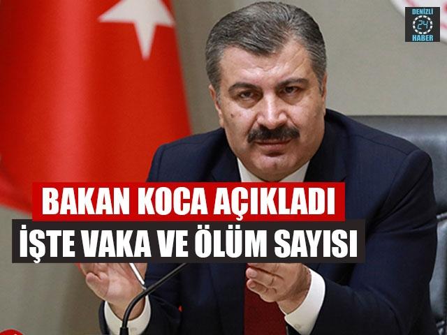 Türkiye'deki koronavirüs verileri açıklandı