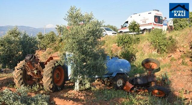 Aydın Karacasu'da traktör kazasında Yusuf Başkan öldü