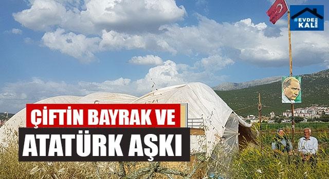 Çiftin Bayrak Ve Atatürk Aşkı