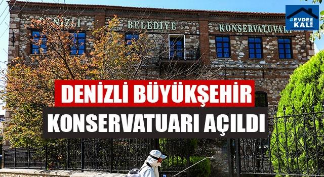 Denizli Büyükşehir Konservatuarı Açıldı