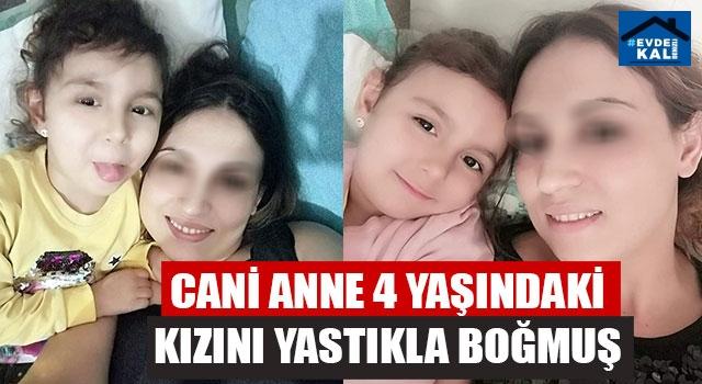İzmir Konak'ta anne, 4 yaşındaki kızını yastıkla boğarak öldürdü