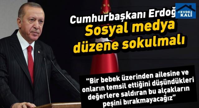 Erdoğan'dan açıkladı: Sosyal medya düzenlenmesi geliyor