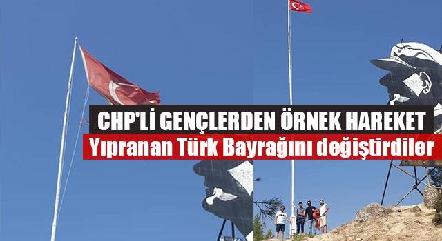 CHP'li Gençlerden Örnek Hareket
