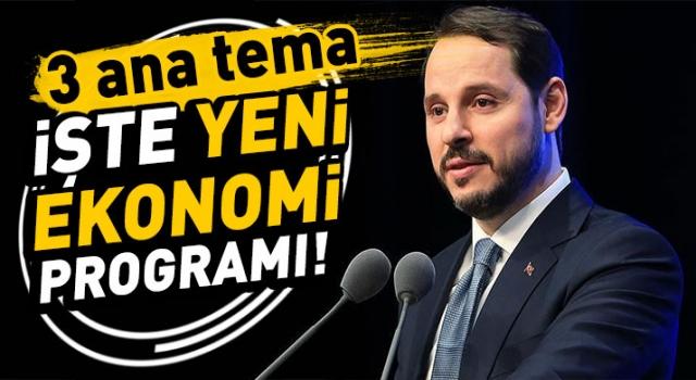 Bakan Albayrak'tan 'Yeni Ekonomi Programı' Açıklandı