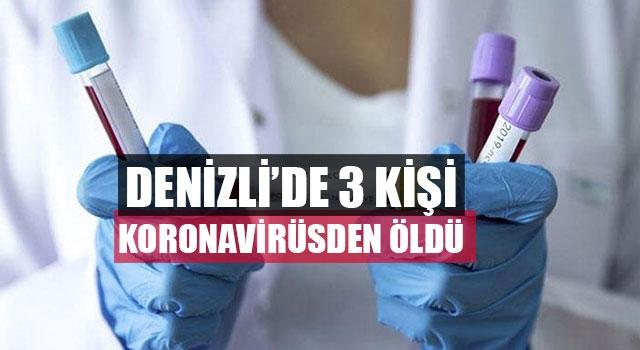 Sarayköy'de koronavirüse bağlı üçüncü can kaybı