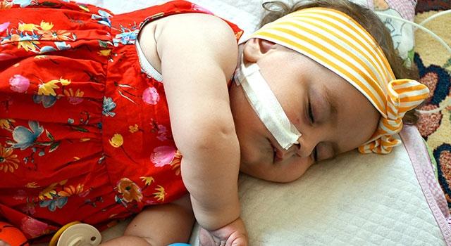 Söke'deki Sma Hastası Deniz Bebek Yardım Bekliyor
