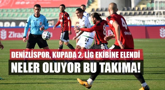 Denizlispor, kupada 2. Lig ekibine elendi