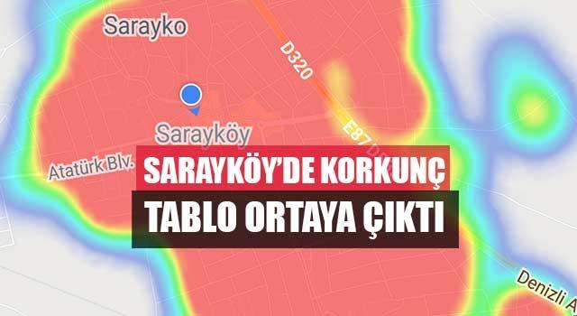 Sarayköy'de korkunç tablo ortaya çıktı