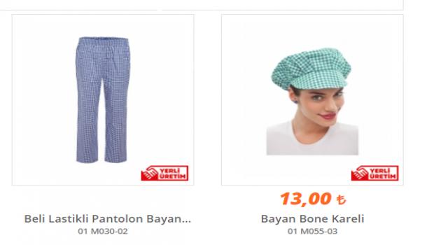 Aşçı Kıyafetleri ve Önlükleri Fiyatları İşmont'da!