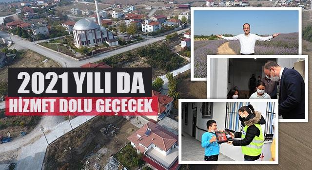 Başkan Örki, 2021 Yılı Da Hizmet Dolu Geçecek