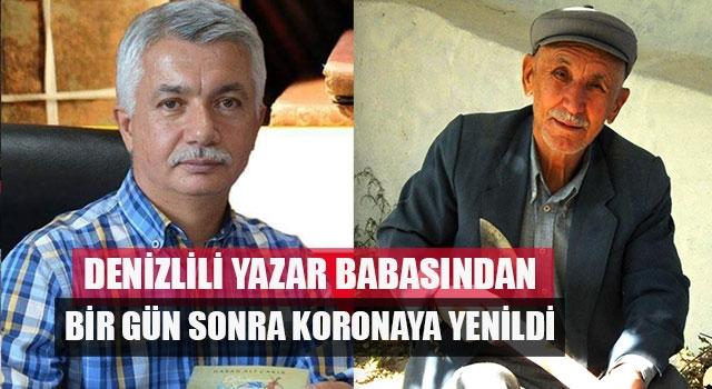Denizlili yazar Hasan Ali Çakır koronaya yenildi