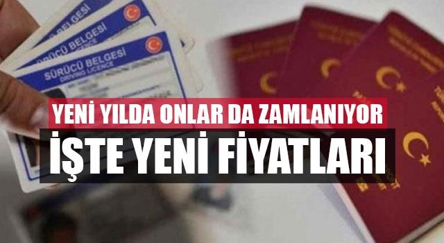 Yeni yılda pasaport ve sürücü belgesi harçlarına zam geliyor!