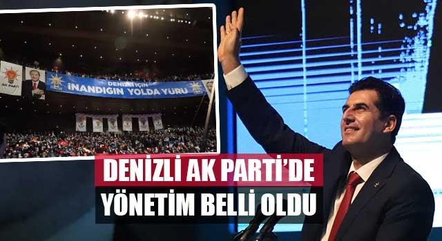 Denizli AK Parti'de Yönetim Belli Oldu