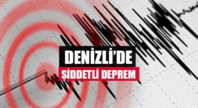 Denizli'de şiddetli deprem