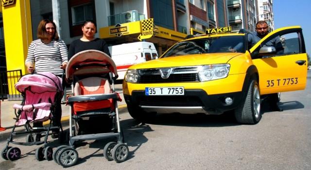 İzmir'de takside bırakılanlar şaşırttı