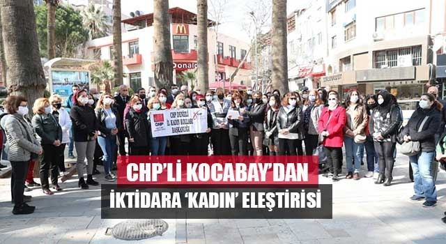 CHP'li Kocabay'dan iktidara 'kadın' eleştirisi