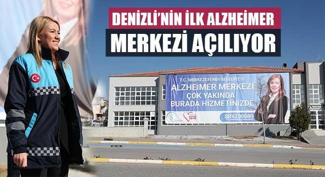 Denizli'nin İlk Alzheimer Merkezi açılıyor