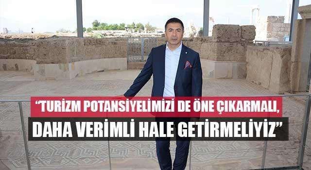 """Başkan Erdoğan, """"Turizm potansiyelimizi de öne çıkarmalı, daha verimli hale getirmeliyiz"""""""