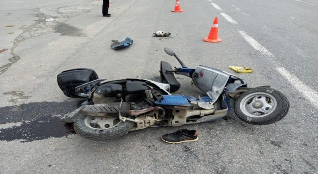 Kuşadası'nda otomobil motosikletle çarpıştı Ali Başaran öldü