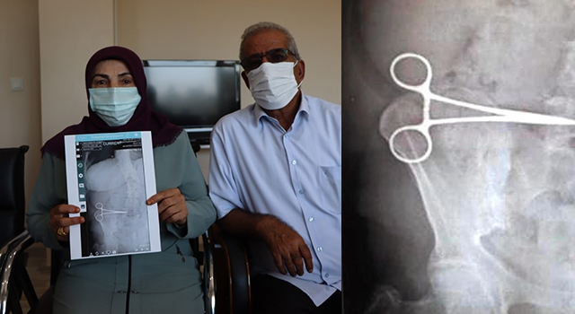 Aydın'da ameliyat olan Nurcihan Öğmen'in karnında makas unutuldu