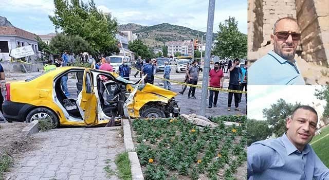 Bergama'daki kazada Özgür Aydemir ve Erol Yılmaz öldü