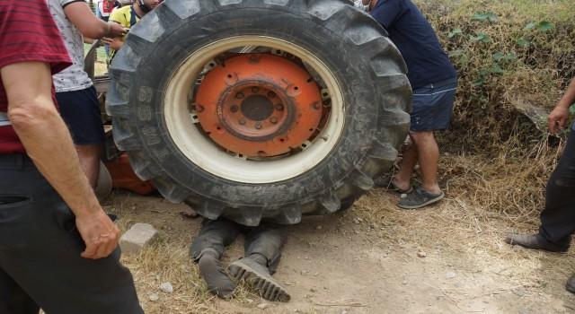 Efeler'de traktör kazasında Durmuş Siviş öldü
