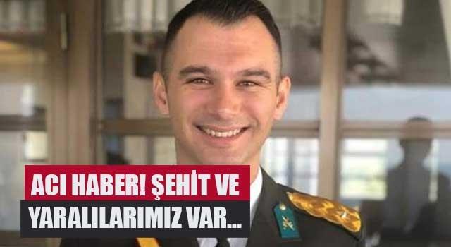 Teğmen Osman Alp şehit düştü