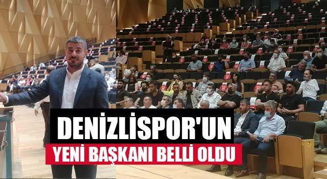 Denizlispor'un yeni başkanı belli oldu