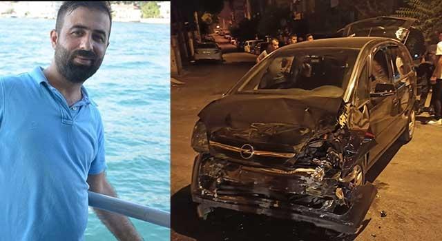 Buca'da taksi ile otomobil çarpıştı Mehmet Salih Aslan öldü