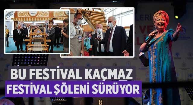 Denizli'de Bu festival kaçmaz Festival şöleni sürüyor