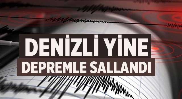 Denizli'de depremler devam ediyor