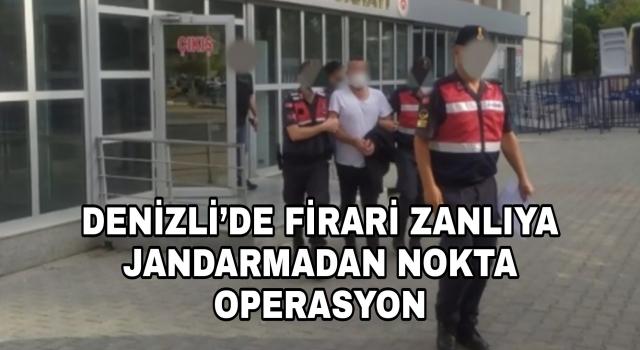 Denizli'de kasten adam öldürme olayı firarisi jandarmadan kaçamadı