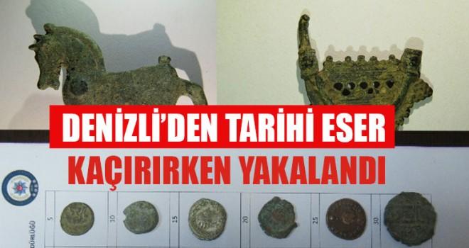 Denizli'nin antik kent olmasından yararlandı fakat yakalandı