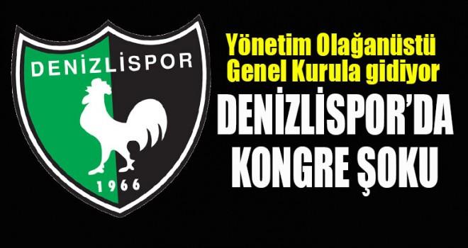 DENİZLİSPOR'DA KONGRE KARARI