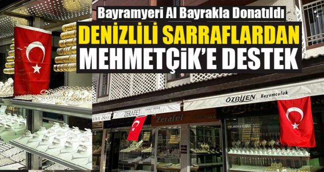 Denizlili Sarraflardan Mehmetçik'e Destek