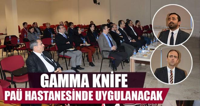 Gamma Knife Paü Hastanesinde Uygulanacak