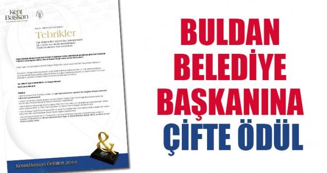 Buldan Belediye Başkanına Çifte Ödül
