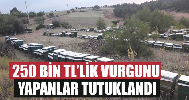 250 Bin TL'lik Vurgunu Yapanlar Tutuklandı