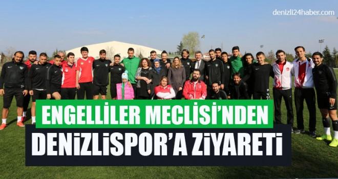 Engelliler Meclisi'nden Denizlispor'a Ziyareti
