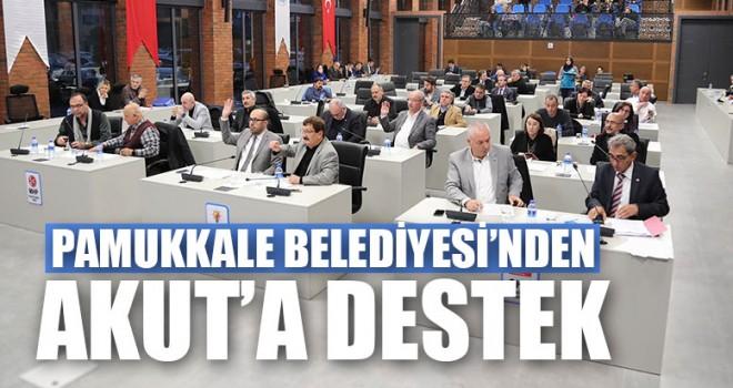 Pamukkale Belediyesi'nden Akut'a Destek