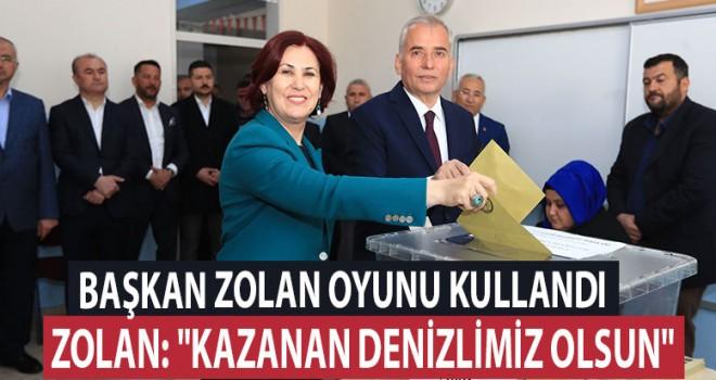 Başkan Osman Zolan oyunu kullandı