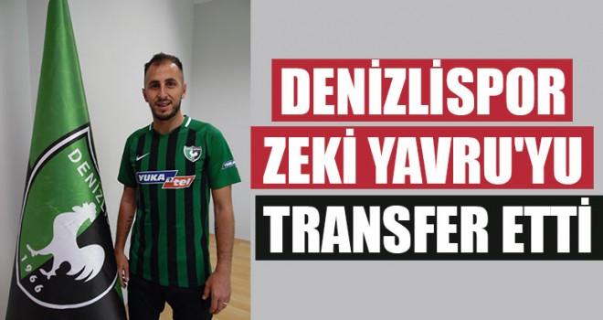 Denizlispor Zeki Yavru'yu Transfer Etti