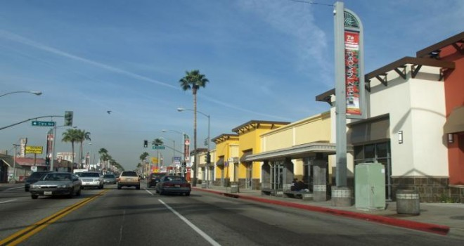 Los Angeles Kent İçi Ulaşım
