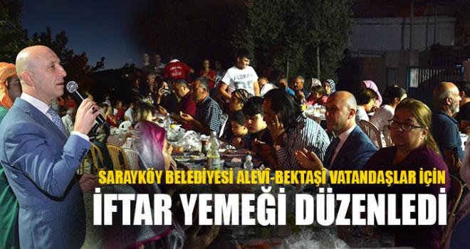 Sarayköy Belediyesi Alevî-Bektaşî Vatandaşlar İçin İftar Yemeği Düzenledi