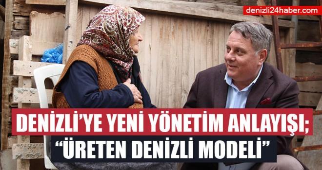 """Ümit Bahtiyar; Denizli'ye Yeni Yönetim Anlayışı; """"Üreten Denizli Modeli"""""""