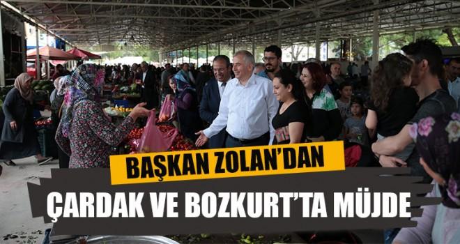 Başkan Zolan'dan Çardak Ve Bozkurt'ta Müjde