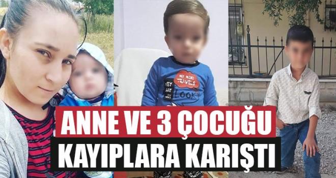 Anne Ve 3 Çocuğu Kayıplara Karıştı